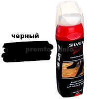 Крем-краска восстановитель для нубука и замши Silver Premium 75мл (черний)
