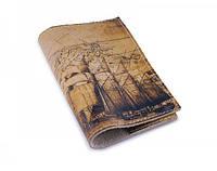 Винтажная обложка для паспорта -Старинная карта