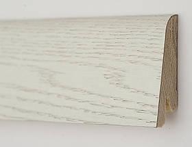 Плінтус дерев'яний (шпон) Kluchuk Neo Plinth Дуб Арктик 100х19х2200 мм.