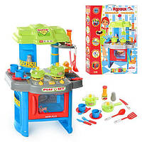 Кухня 008-26 A плита, духовка,посуда, звук,свет