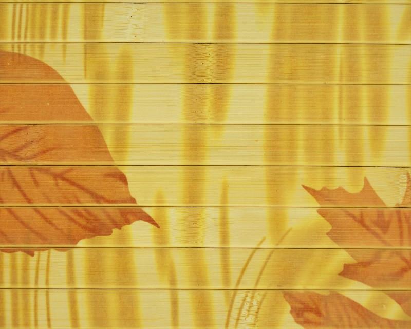 """Бамбуковые обои """"Осень"""" (из натурального бамбука)"""