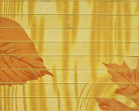 "Обои из бамбука ""Осень"""