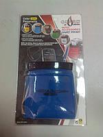 Подставка телефонная Карманчик тканевый синий