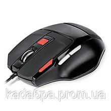 Мышь REAL-EL RM-500 проводная black USB