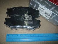Колодка тормозная дисковая NISSAN ALMERA CLASIC 06- передний (RIDER) RD.3323.DB3563