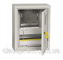Корпус металлический ЩУРн-1/12з-0 У2 IP54 учетно-распределительный IEK