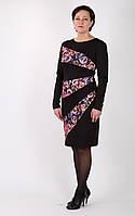 Трикотажное платье Allegra-2 цвет черный