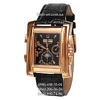Мужские наручные часы Patek Philippe Gondolo Black/Gold/Black