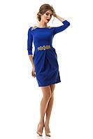 Платье женское  нарядное с золотой вышивкой S M L XL
