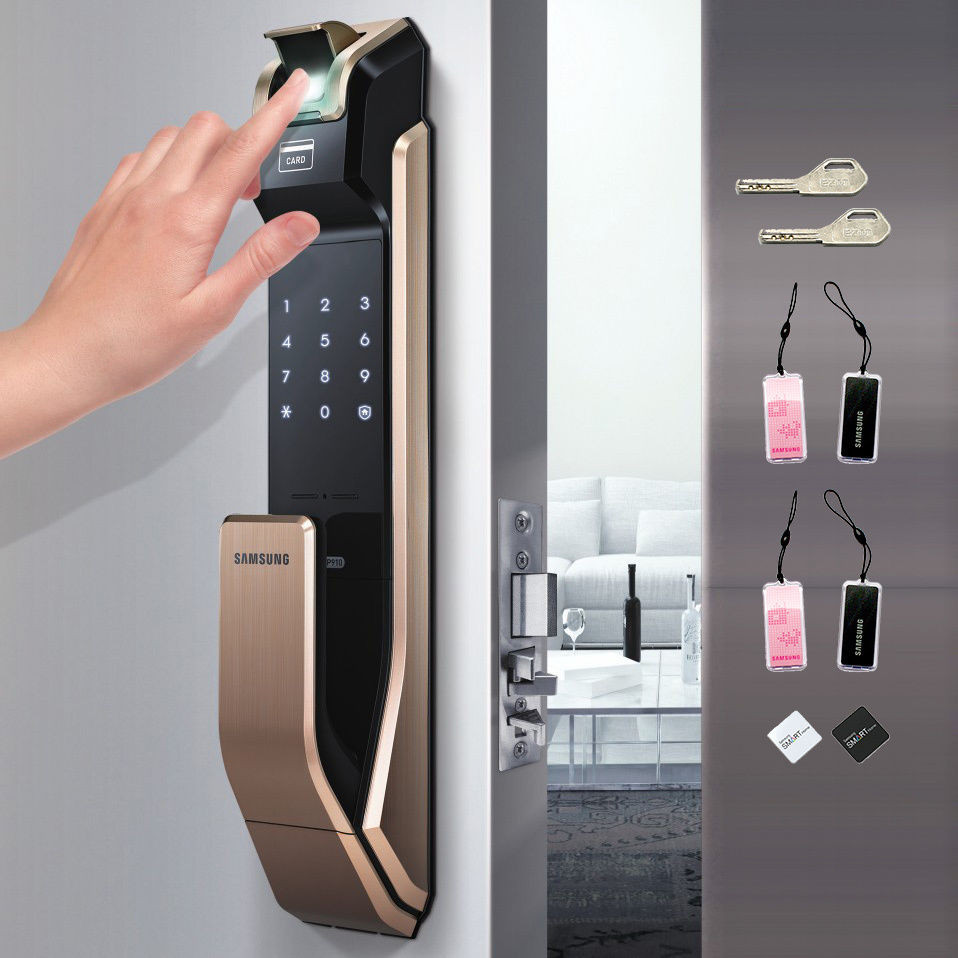 Биометрический замок Samsung EZON SHS-P920
