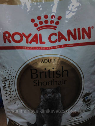Royal Canin(British)10кг для британских кошек после 1 года, фото 2