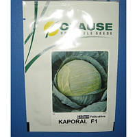 Семена капусты Капорал F1 (Clause), 2500 семян — средняя (85-100 дней), белокочанная