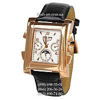 Мужские наручные часы Patek Philippe Gondolo Black/Gold/White