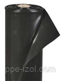 Пленка строительная черная 50мкн (3м х100м) 1,5м/рукав