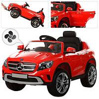Детский джип 653BR-3 Mercedes Benz с КОНДИЦИОНЕРОМ, красный ***