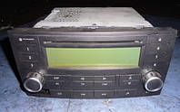 Магнитола штатная под диски CD, Radio-05VWTouareg2002-20107L6035195, Delta