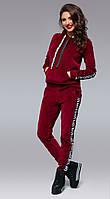 Костюм женский спортивный велюровый в расцветках 14154