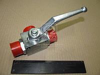 Кран шаровой гидравлический 3х ходовой S32хS32хS32(М27x1,5-М27x1,5-М27x1,5) (пр-во Агро-Импульс.М.) S32хS32хS32   (М27*1