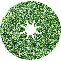 Фибровый диск Bocsh Best for INOX керамический корунд Ø125 K60