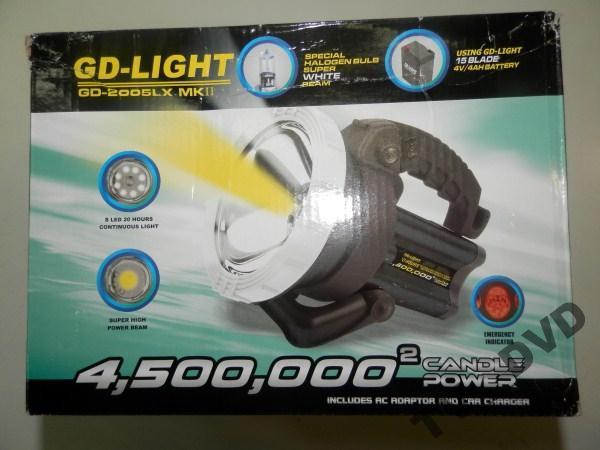 Ліхтар акумуляторний GD-2005LX