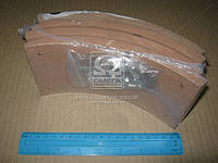 Накладка торм. ПАЗ 3205 сверл. R0 (с закл.) (пр-во Трибо) 3ТР-199