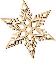 F-038 Набор новогоднее украшение из фанеры Зимние фантазии