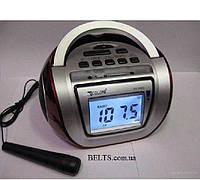 Магнитола  Бумбокс  GOLON 656QI  USB SD Аккумулятор Пульт запись Микрофон Радио  Акция !!!