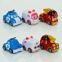 Набор машинок Робокар Поли и его друзья 8022-1