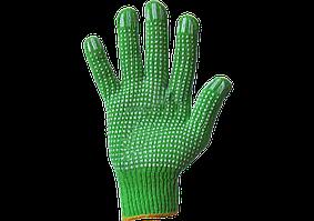 Перчатки Синтетика салатовые