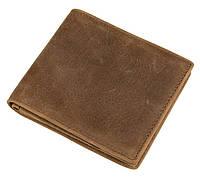 Кожаный мужской компактный кошелек 8056B, фото 1