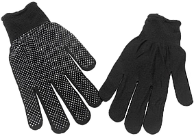 Перчатки нейлоновые черные
