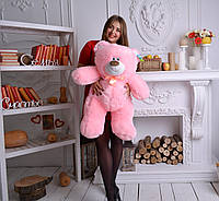 """Мягкая игрушка мишка ТЕМА (90 см), Харьков """"Розовый"""", фото 1"""