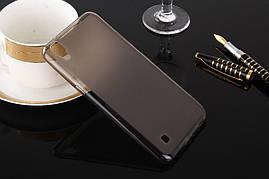Чехол LG X Power / K220 / K210 силикон TPU серый