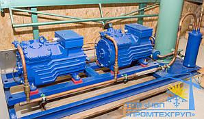 Холодильная установка Б/У Bock 2x HGX34p/215-4 S (37,6 m3/h)