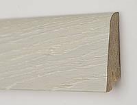 Плинтус деревянный (шпон) Kluchuk Neo Plinth Дуб ледяной 100х19х2200 мм.