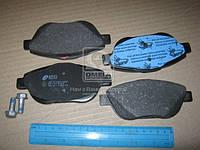 Колодка торм. CITROEN C3, C3 PICASSO передн. (пр-во REMSA) 1392.10