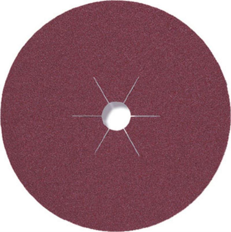 Фибровый круг Klingspor CS 565 P100 Ø 125 x 22