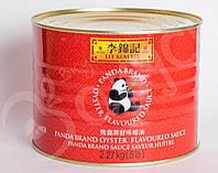 Устричный соус Lee Kum Kee Panda Brand 2.27 кг.