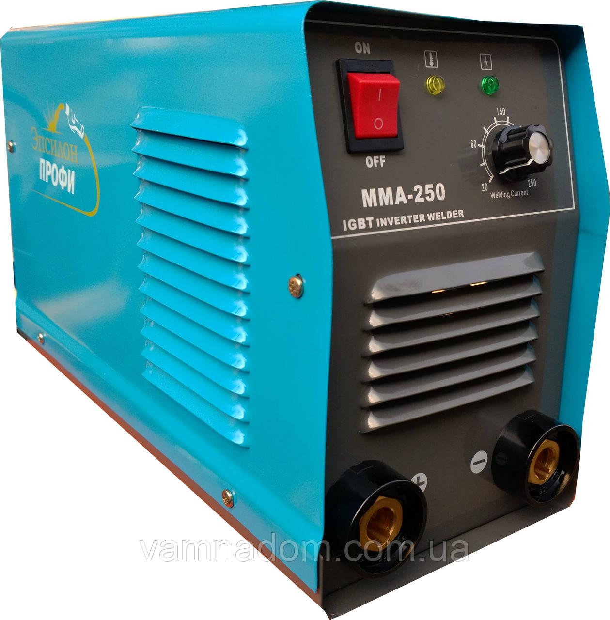 Инверторный сварочный аппарат Эпсилон Профи ММА-250