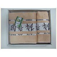 Полотенце ARYA MEGAN бамбук 2 шт. бежевый