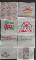Салфетка барная с логотипом 500 листов.
