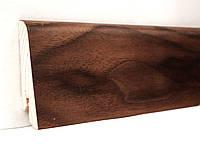 Плинтус деревянный (шпон) Kluchuk Neo Plinth Орех американский 100х19х2200 мм.