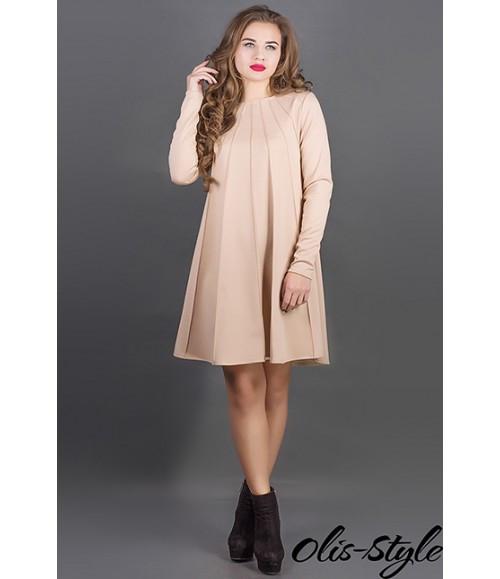 Платье Ситти (бежевый)