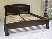 Кровать из натурального дерева Авангард