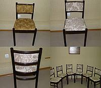 Перетяжка замена обивки стульев