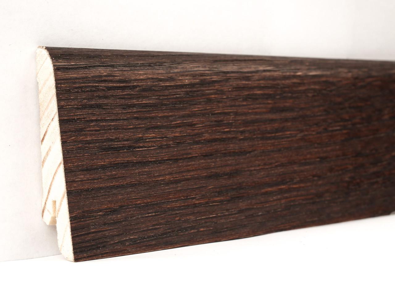 Плинтус деревянный (шпон) Kluchuk Neo Plinth Дуб коньяк 100х19х2200 мм.