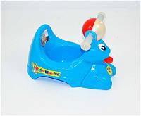 """Гр Горшок детский (10) - цвет голубой """"Bugs Bunny"""" """"K-PLAST"""""""