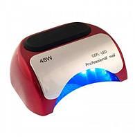 LED+CCFL Гібридна лампа (Червона) 48 Вт