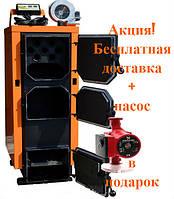 Твердотопливный котел длительного горения Донтерм (ДТМ)  КОТ-10 Т