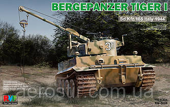 Bergepanzer TIGER I Sd.Kfz.185 Italy 1944 1/35 RMF5008